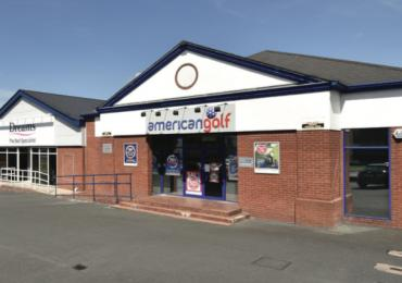 Retail warehouse investment premises in Preston